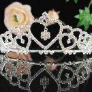 Bridal tiara veil,wedding rhinestone woman hair accessories,pearl tiara 789