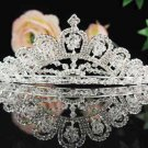 Bridal tiara headpiece veil,wedding rhinestone accessories,pearl tiara 1080