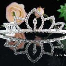 Bridal headpiece veil,wedding headband hair accessories tiara 1601