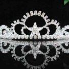 Handmade silver bridal tiara ,wedding headpiece bridesmaid hair accessories 2229