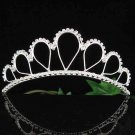 Handmade silver bridal regal veil,wedding headpiece woman hair accessories tiara band regal 2418
