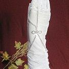 Handmade sparkle crystal rhinestone silver alloy bridal bracelet ,wedding party accessories 758