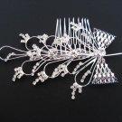 silver handmade rhinestone bridal comb,wedding tiara alloy woman hair accessories  SL1159
