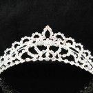 Silver bridal crystal comb,bridesmaid handmade hair accessories,wedding tiara regal 8520
