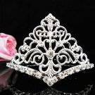 Floral Leaf Hair Comb, Wedding Comb Jewelry, Wedding Comb,Silver Bridal Comb Radiant Beauty 8556