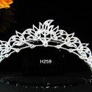 Floral Leaf Hair Comb,silver alloy Wedding Comb Jewelry, Wedding Comb, Bridal Comb Radiant Beauty