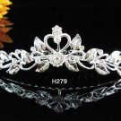 Handmade silver bridal crystal comb,bridesmaid hair accessories,wedding tiara regal h279