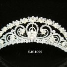 Handmade silver bridal tiara ,crystal comb,bridesmaid hair accessories,wedding tiara regal 1099