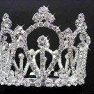 Silver bride bridesmaid small crown, bridal hair accessories,delicate wedding tiara 2419