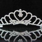 bridal headpiece wedding hair accessories silver swarovski crystal bridal tiara pj200