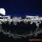 wedding tiara accessories bride bridesmaid silver rhinestone sparkle SWAROVSKI bridal tiara 4884