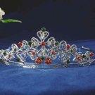 bridesmaid crystal wedding hair accessories rhinestone sweetheart alloy bridal tiara 97