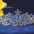 Elegant Pageant Bridal Wedding Princess Rhinestone Tiara Crown Headband bridal tiara 110