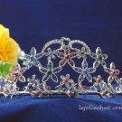 Elegant Pageant Bridal Wedding Princess Alloy Rhinestone Tiara Crown Headband bridal tiara 115