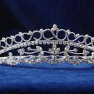 Elegant Pageant Bridal Wedding Princess Rhinestone Tiara Crown Headband bridal tiara 966
