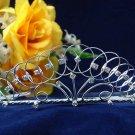 Elegant Pageant Bridal Wedding Princess Rhinestone Tiara Crown Filigree bridal tiara 1263