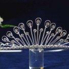 Elegant Pageant Bridal Wedding Princess Rhinestone Tiara Crown Headpiece 1285