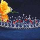 Bride wedding hair accessories,fancy silver headpiece rhinestone bridal tiara 9860R