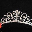Elegant Pageant Bridal Wedding Princess Rhinestone Tiara Crown Headband 609