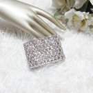 Sparkling Stretch Rhinestone Prom Wedding Pageant Bridal Bracelet woman accessories JT6
