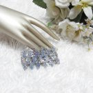 Sparkling Stretch Rhinestone Pattern Wedding Pageant Bridal Bracelet woman accessories JT14