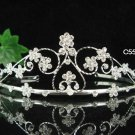 Elegant Pageant Bridal Wedding Princess Rhinestone Tiara Crown Headpiece 5261