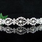 Wedding Queen Party Silver Bride Pearl Fancy Rhinestone headband Tiara cn58