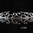 Bride, Wedding Tiara Swarovski Crystals and Rhinestones Headband Regal Crown 1253