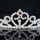 Bride, bridesmaid Wedding Tiara Swarovski Crystals and Rhinestones Regal Crown 8216