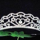 Bride, bridesmaid Headband Wedding Tiara sweetheart Crystal Rhinestones Regal 109