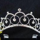 Bride, bridesmaid Headband Wedding Tiara sweetheart Crystal Rhinestones Regal 2015
