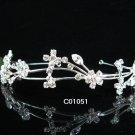 Bride, bridesmaid Radiant Regal Wedding Tiara Crystal Rhinestones Headband 1051