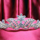 Bride, bridesmaid Wedding Alloy Tiara Crystal Rhinestones Headband 520b