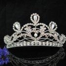 Vintage Bridal Tiara ,bridesmaid Wedding Silver Comb,Bridal Comb,Rhinestones Bride Clip #2030