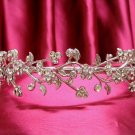Bridal Headband,Bridal bridesmaid Wedding Band, Rhinestones Alloy Floral Bride Headband 2016