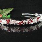 Bridal Headband,Silver Butterfly Princess Wedding Bridal Tiara 696R