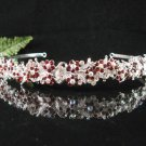 Bridal Headband,Bridal bridesmaid Wedding Band, Rhinestones Alloy Floral Bride Headband 701R