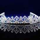 Bridal Headpiece ,Bridal bridesmaid Wedding Tiara ,Vintage Rhinestones Alloy Bride Headband 1087