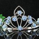 Bridal Headpiece,Bridesmaid Wedding Tiara,Porcelain Floral Bridal Tiara 4881Bp