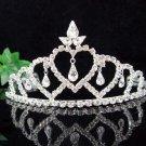 Bridal Headpiece,Bridesmaid Wedding Tiara,Fancy Huge Sweetheart Bridal Tiara 1229
