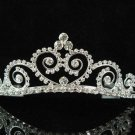 Silver sweetheart Bride Bridal tiara ,Bridesmaid Wedding Tiara,Bridal Tiara 2246
