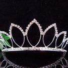Silver Lotus Bride Bridal tiara ,Bridesmaid Wedding Tiara,Bridal Tiara 2422