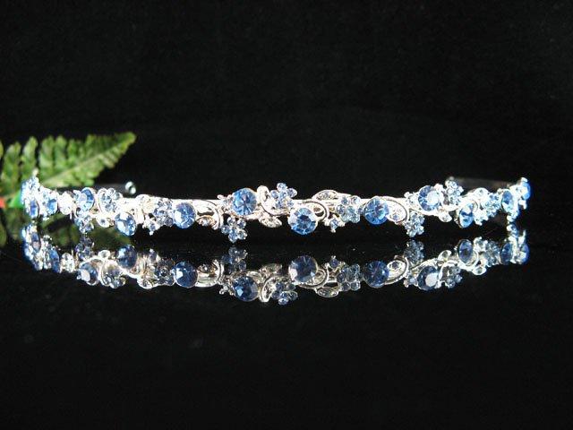 Elegant Pageant Bridal Wedding Princess Rhinestone Tiara Crown Headband,Bridal Tiara 64B