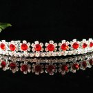 Elegant Pageant Bridal Wedding Princess Rhinestone Tiara Crown Headband,Bridal Tiara 6R