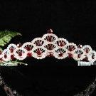 Elegant Pageant Bridal Wedding Princess Rhinestone Tiara Crown Headband,Bridal Tiara 544R