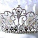 Elegant Pageant Bridal Tiara Wedding Princess Rhinestone Crown Headband,Bridal Tiara 854