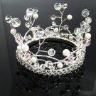 Elegant Pageant Bridal Tiara Wedding Princess Rhinestone Crown Headband,Bridal Tiara 4214p
