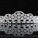 Bridal Wedding Tiara,Elegant Silver Crystal Vintage Bride Headpiece ,Bridal tiara 296