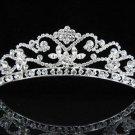 Bridal Wedding Tiara,Elegant Silver Crystal Vintage Queen Swarovski Bride tiara 384