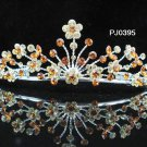 Bridal Wedding Tiara,Elegant Silver Crystal Queen Swarovski Bride tiara 395y